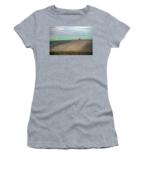 Women's T-Shirt featuring the photograph Autumn In South Moravia 5 by Dubi Roman