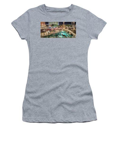 View Of The Venetian Hotel Resort And Casino Women's T-Shirt