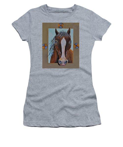 A Blue Eyed Horse Women's T-Shirt