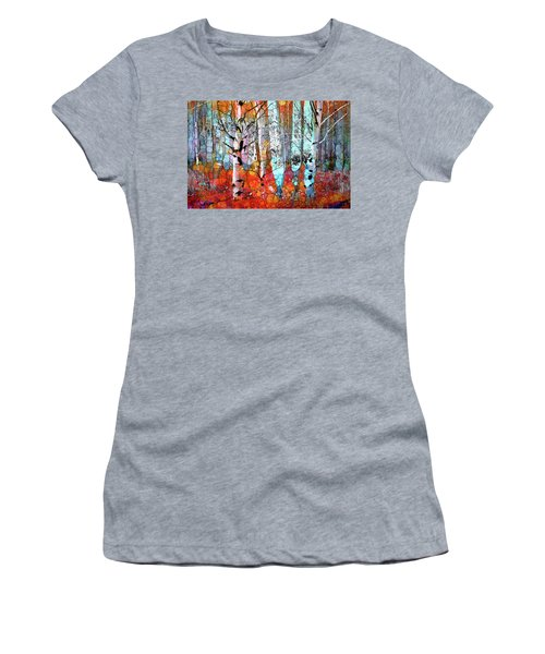A Party In The Forest Women's T-Shirt