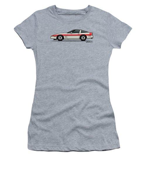 A-team Faceman's 1984 C4 Ve77e Women's T-Shirt