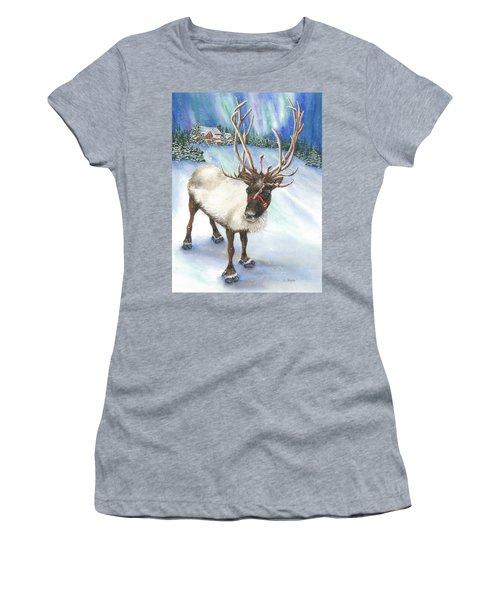A Winter's Walk Women's T-Shirt