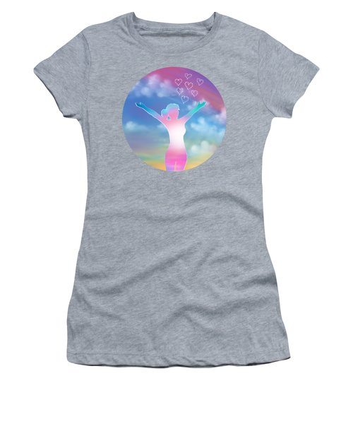 Abstract Happy Woman  Women's T-Shirt
