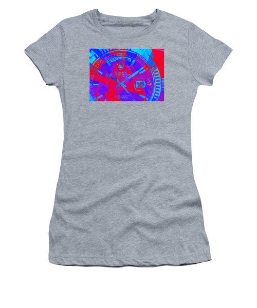Abstract Rolex Digital Paint 7 Women's T-Shirt