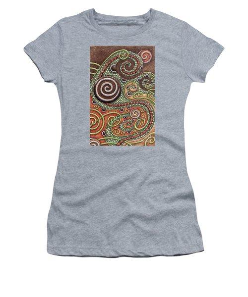 Abstract Spiral 10 Women's T-Shirt