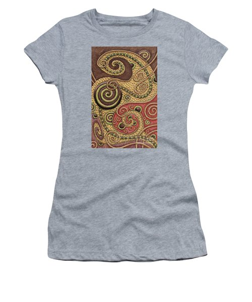 Abstract Spiral 3 Women's T-Shirt