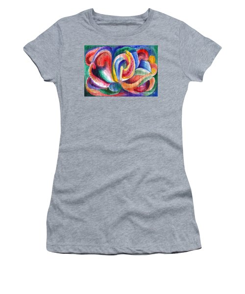 Abstraction Bloom Women's T-Shirt