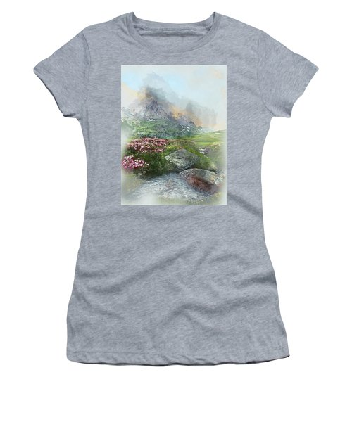 Afternoon Light In The Alps II Women's T-Shirt