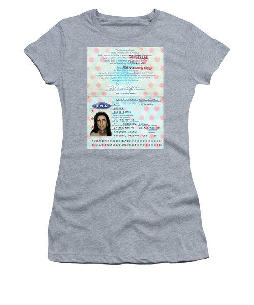 Alice Cooper Passport 1997 Women's T-Shirt