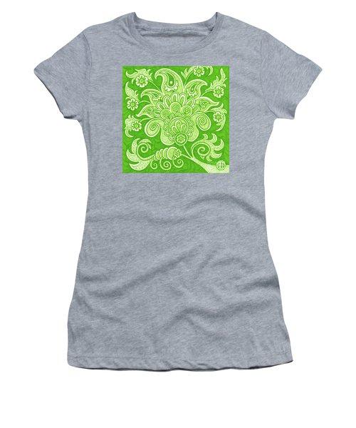 Alien Bloom 4 Women's T-Shirt