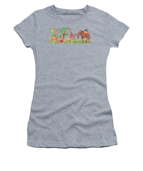 All Is Well In The Jungle Women's T-Shirt (Athletic Fit)