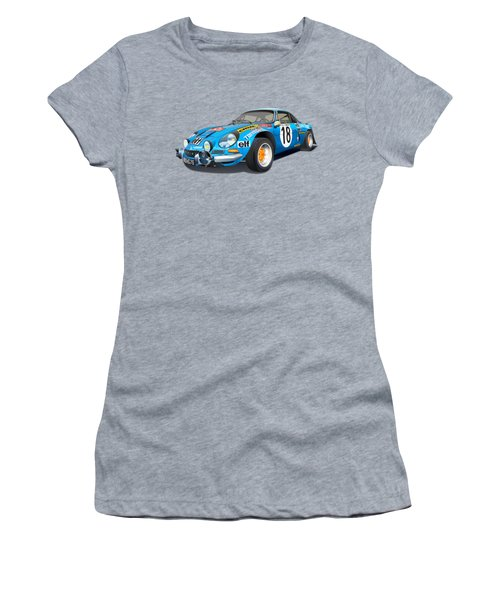 alpine A110 no background Women's T-Shirt
