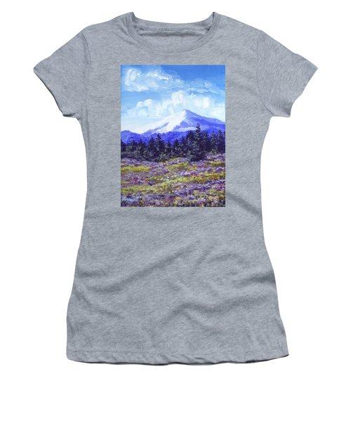 Alpine Meadow Sketch Women's T-Shirt