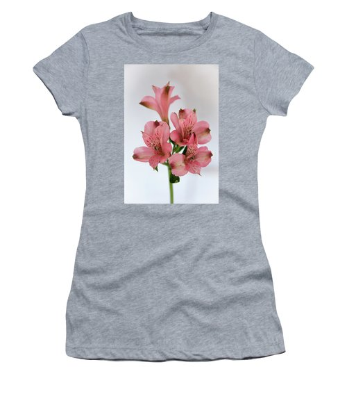 Alstroemeria Up Close Women's T-Shirt