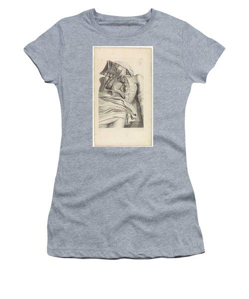 Anatomical Study Of The Opened Chest, Pieter Van Gunst, After Gerard De Lairesse, 1685 Women's T-Shirt