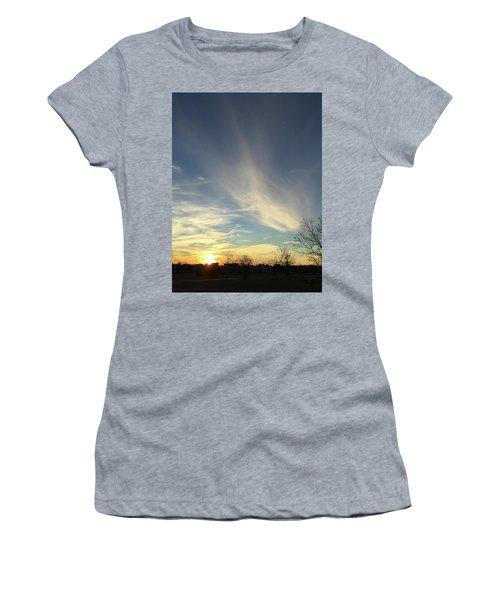 Angel Cloud Sunset Women's T-Shirt