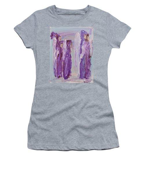 Angels In Purple Women's T-Shirt