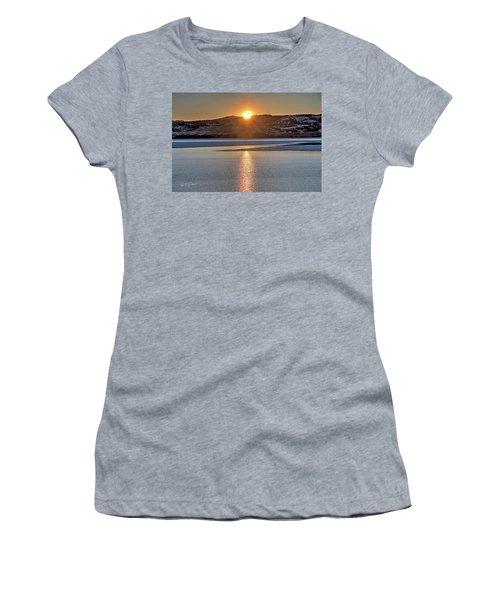 Women's T-Shirt featuring the photograph Angostura Sunset by Bill Gabbert