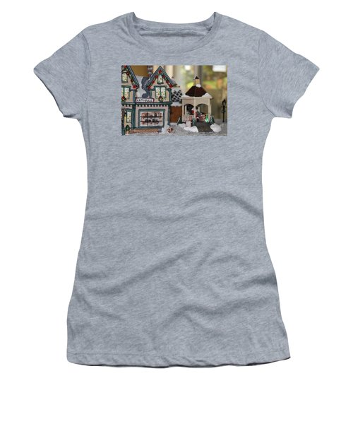 Antiques In Christmas Town Women's T-Shirt