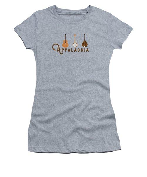 Appalachia Mountain Music White Mountains Women's T-Shirt