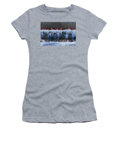Women's T-Shirt featuring the photograph Art Print Abstract 16 by Harry Gruenert