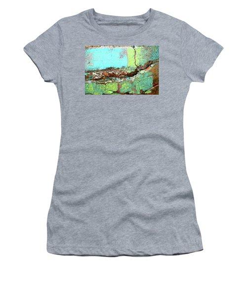 Women's T-Shirt featuring the photograph Art Print Abstract 17 by Harry Gruenert