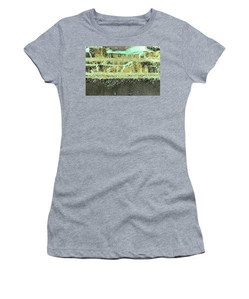 Women's T-Shirt featuring the photograph Art Print Abstract 18 by Harry Gruenert