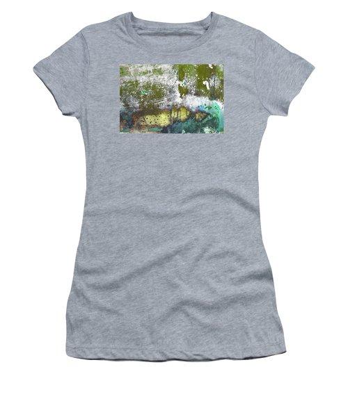 Women's T-Shirt featuring the photograph Art Print Abstract 30 by Harry Gruenert
