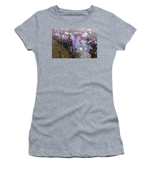 Women's T-Shirt featuring the photograph Art Print Abstract 32 by Harry Gruenert