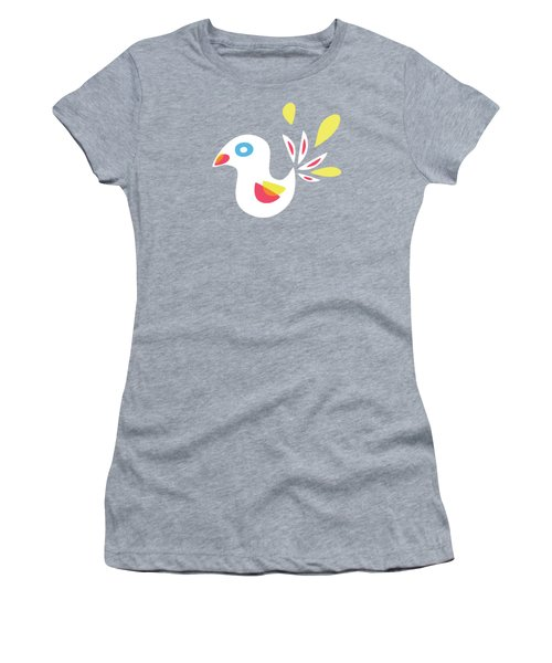 Abstract Bird In Spring Women's T-Shirt
