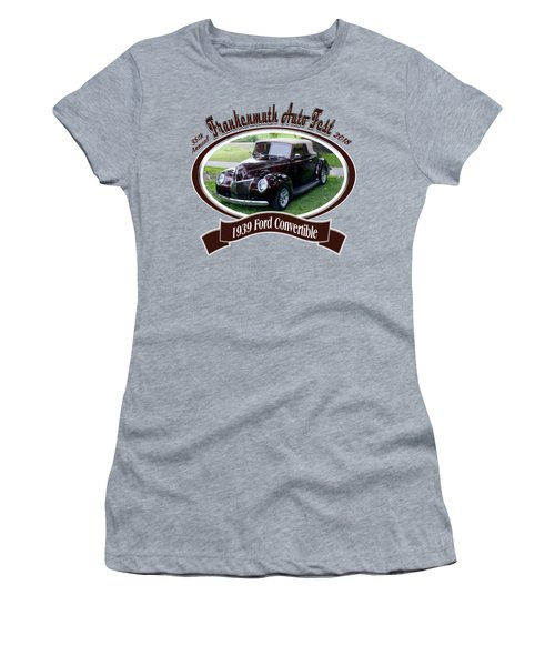 1939 Ford Convertible Marsh Women's T-Shirt