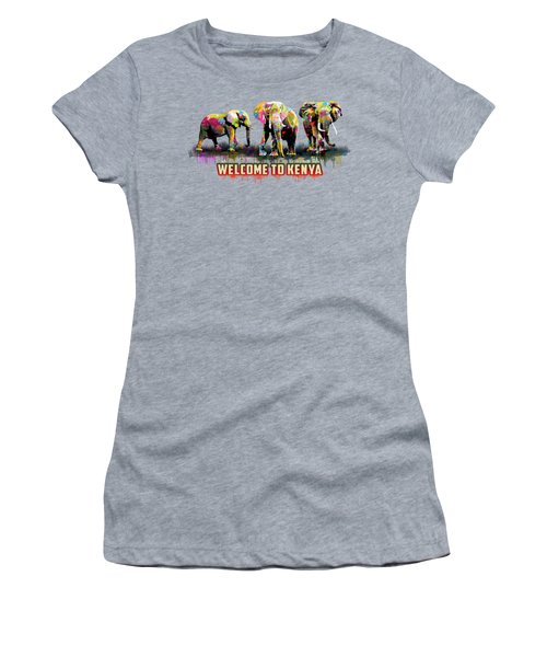 Three Elephants Women's T-Shirt