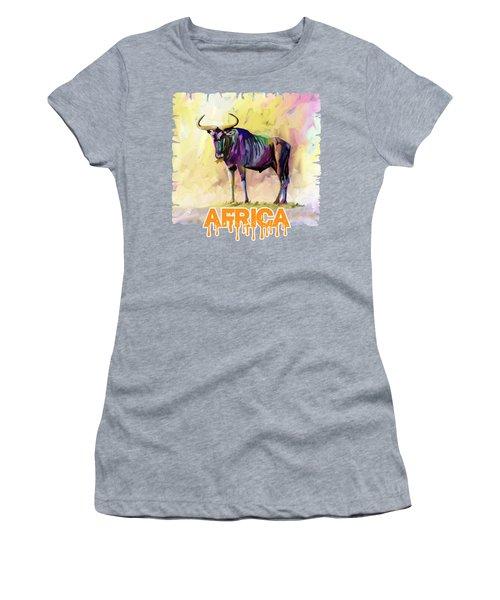 Colorful Gnu Women's T-Shirt