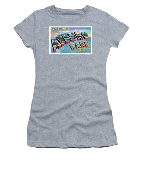 Asbury Park Greetings Women's T-Shirt