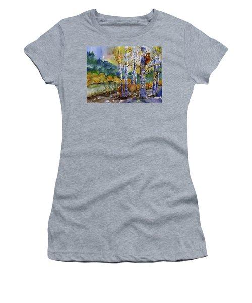 Aspen Bears At Emmigrant Gap Women's T-Shirt