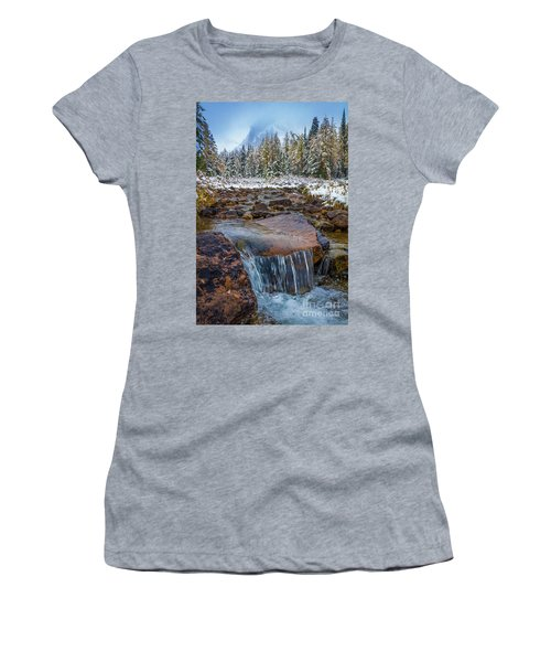 Assiniboine Winter Stream Women's T-Shirt