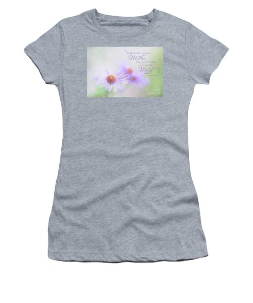 Asters For Mother's Day Women's T-Shirt