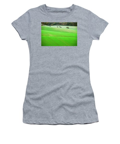 Women's T-Shirt featuring the photograph Autumn In South Moravia 12 by Dubi Roman