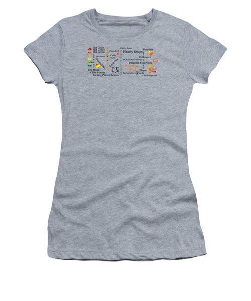 Autumn Mug Design Women's T-Shirt