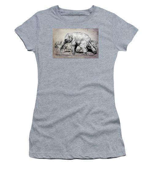 Baby Elephant Walk Women's T-Shirt