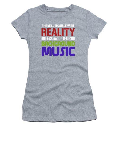 Background Music Women's T-Shirt