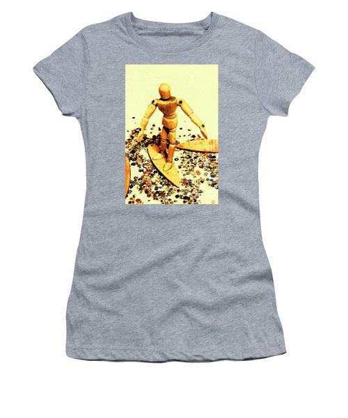 Balsa Boarder 1970 Women's T-Shirt