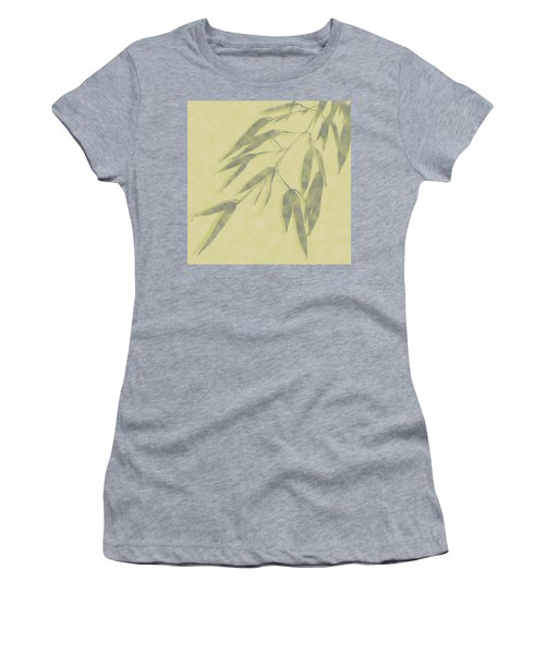 Bamboo Leaves 0580b Women's T-Shirt