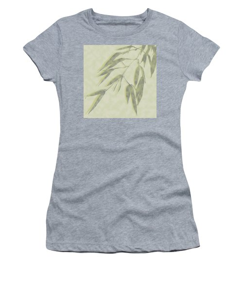 Bamboo Leaves 0580c Women's T-Shirt