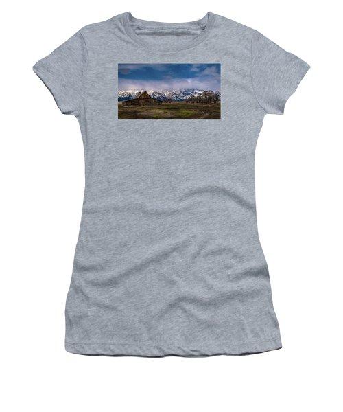 Barn At Mormon Row Women's T-Shirt