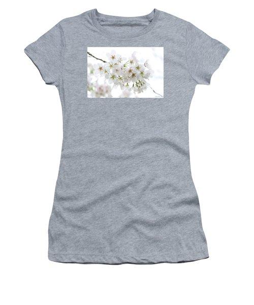 Beautiful White Cherry Blossoms Women's T-Shirt