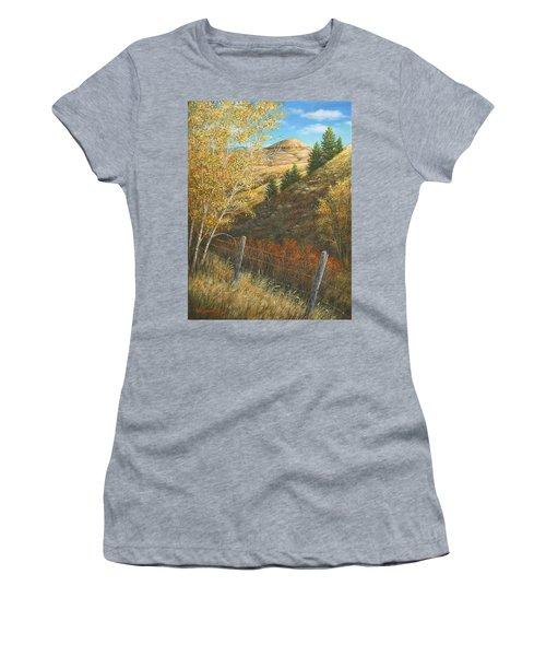 Belt Butte Autumn Women's T-Shirt