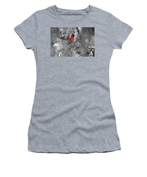 Black And White With A Splash Of Color Women's T-Shirt