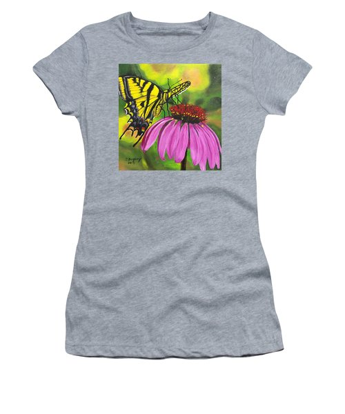 Black-sampson Echinacea Women's T-Shirt