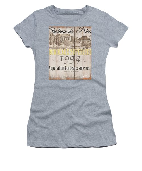 Blanc Wine Label 1 Women's T-Shirt